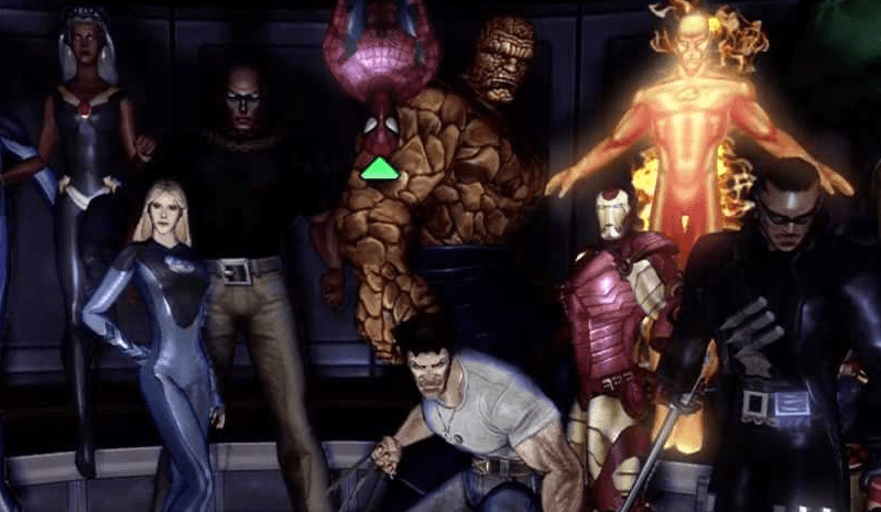 Marvel Ultimate Alliance Cast