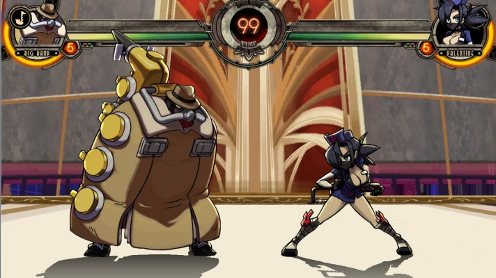 "With ""big"" in his name, its no surprise that Big Band is the biggest character in the Skullgirls Encore roster and tied for heaviest alongside Double."