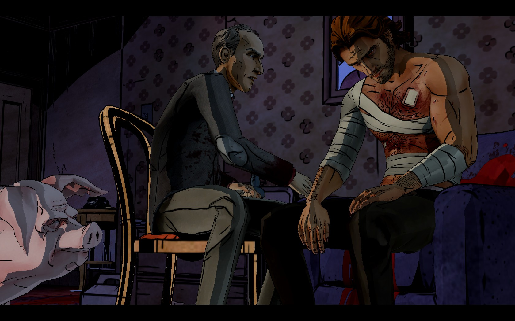 Bigby isn't doing so hot after his confrontation with Bloody Mary.