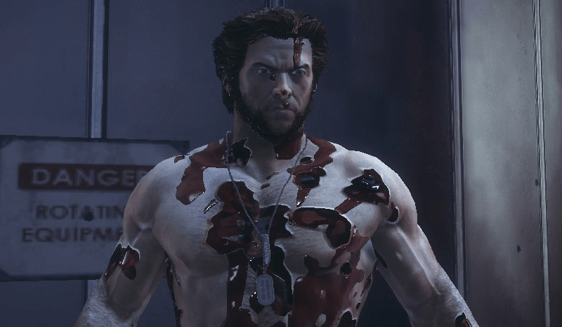 The damage modeling on Wolverine is incredible.