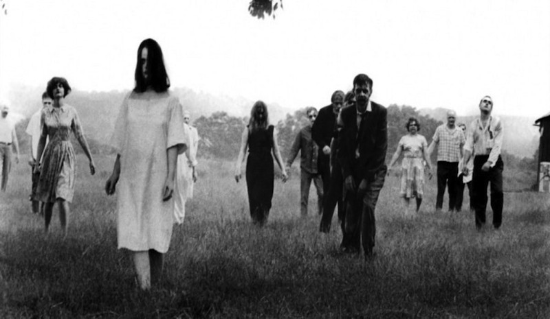 Night of the Living Dead zombies