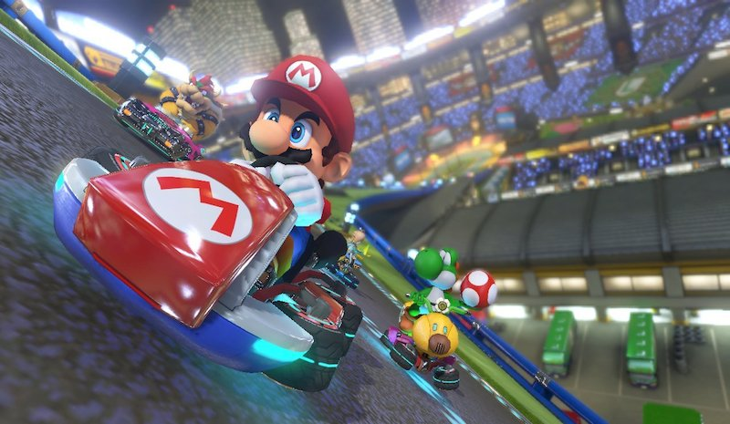 Around the Bend with Mario Kart 8