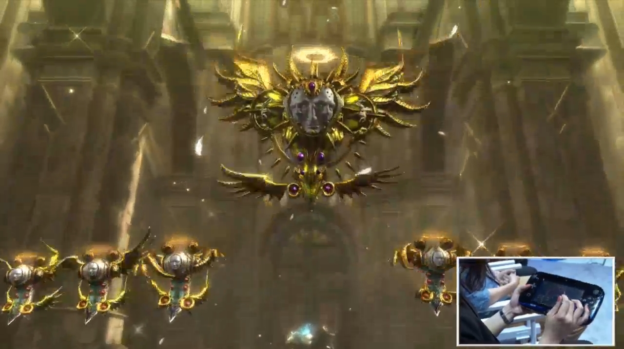 In Bayonetta's world, angels are not particularly beautiful, nor friendly looking.