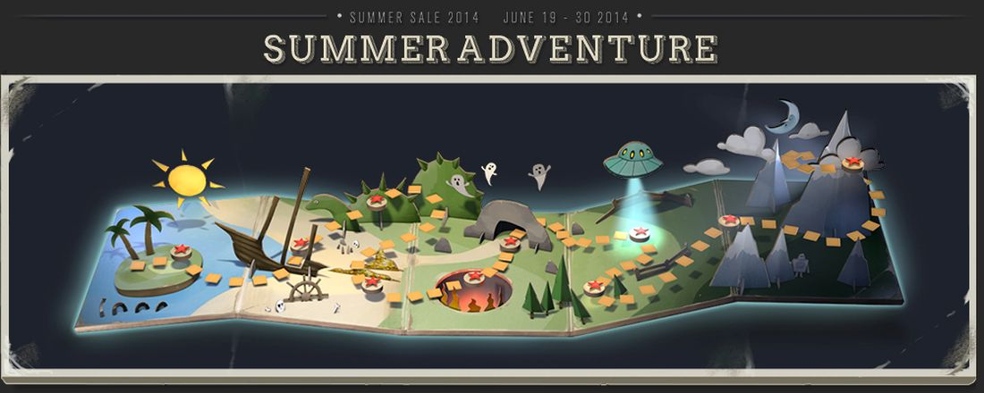 The Steam Summer Adventure is a Hilarious Exercise in Socialism