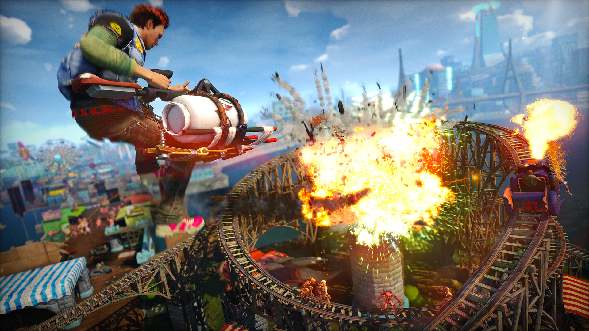 E3 2014: Sunset Overdrive Hands-On Impressions: Goofy, Vibrant Fun