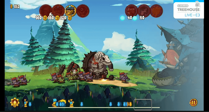 Demons take the Battlefield in Swords and Soldiers 2