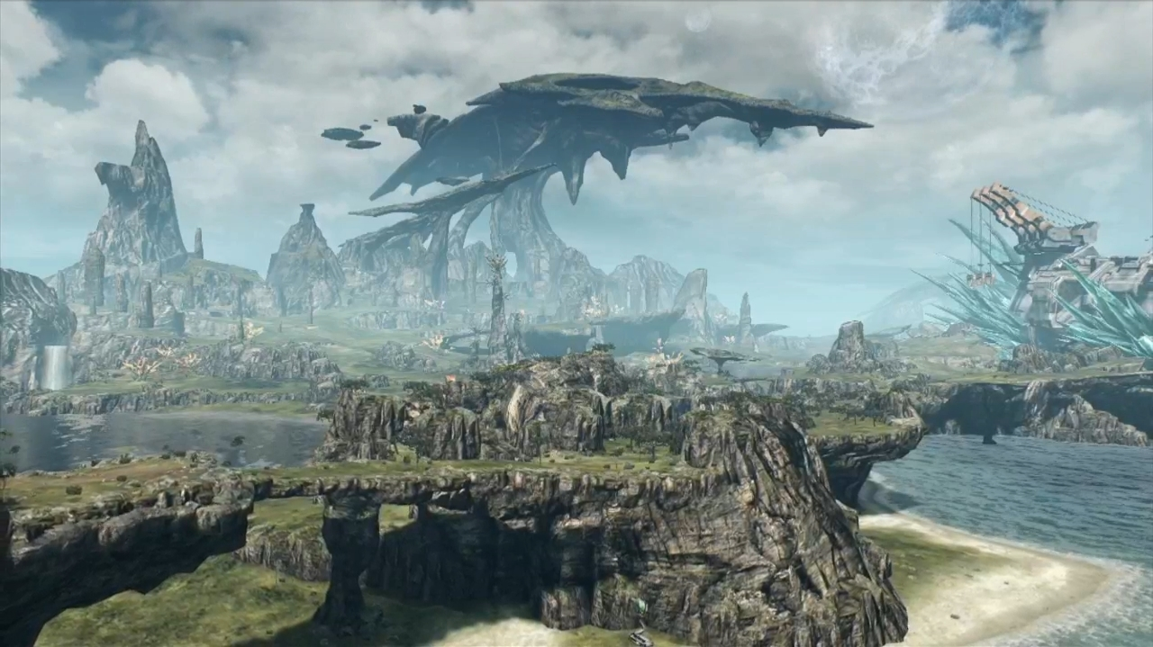 This is just a piece of the enormous world we'll be exploring when Xenoblade Chronicles X launches in 2015.