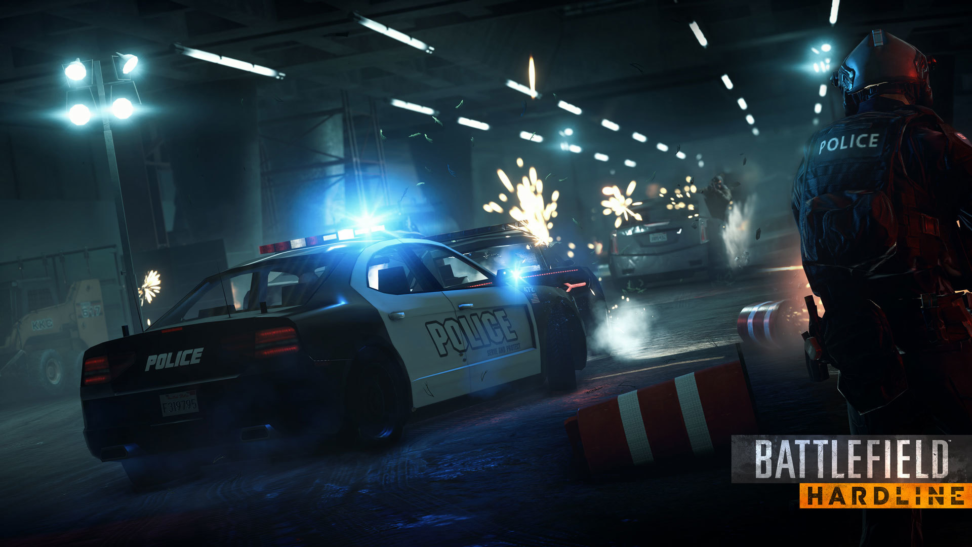 battlefield hardline wallpaper