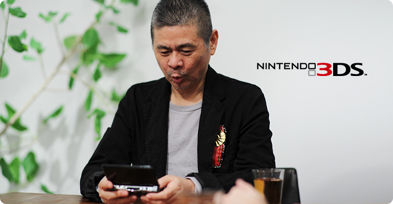 Pictured here with a 3DS, Shigesato Itoi has shaped my life in so many ways.