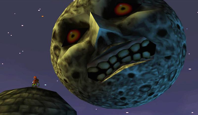 "Majoras Mask Moon Giants Aonuma ""Li..."