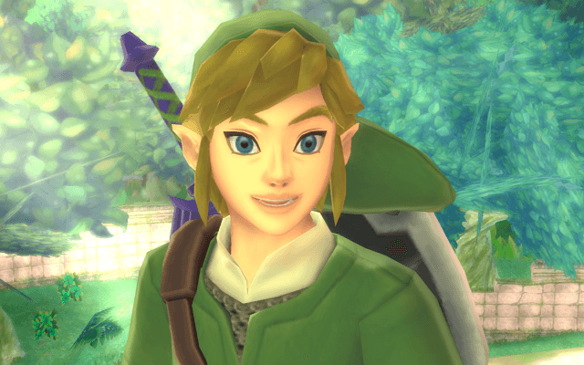 Link has become his own character, far beyond the player.