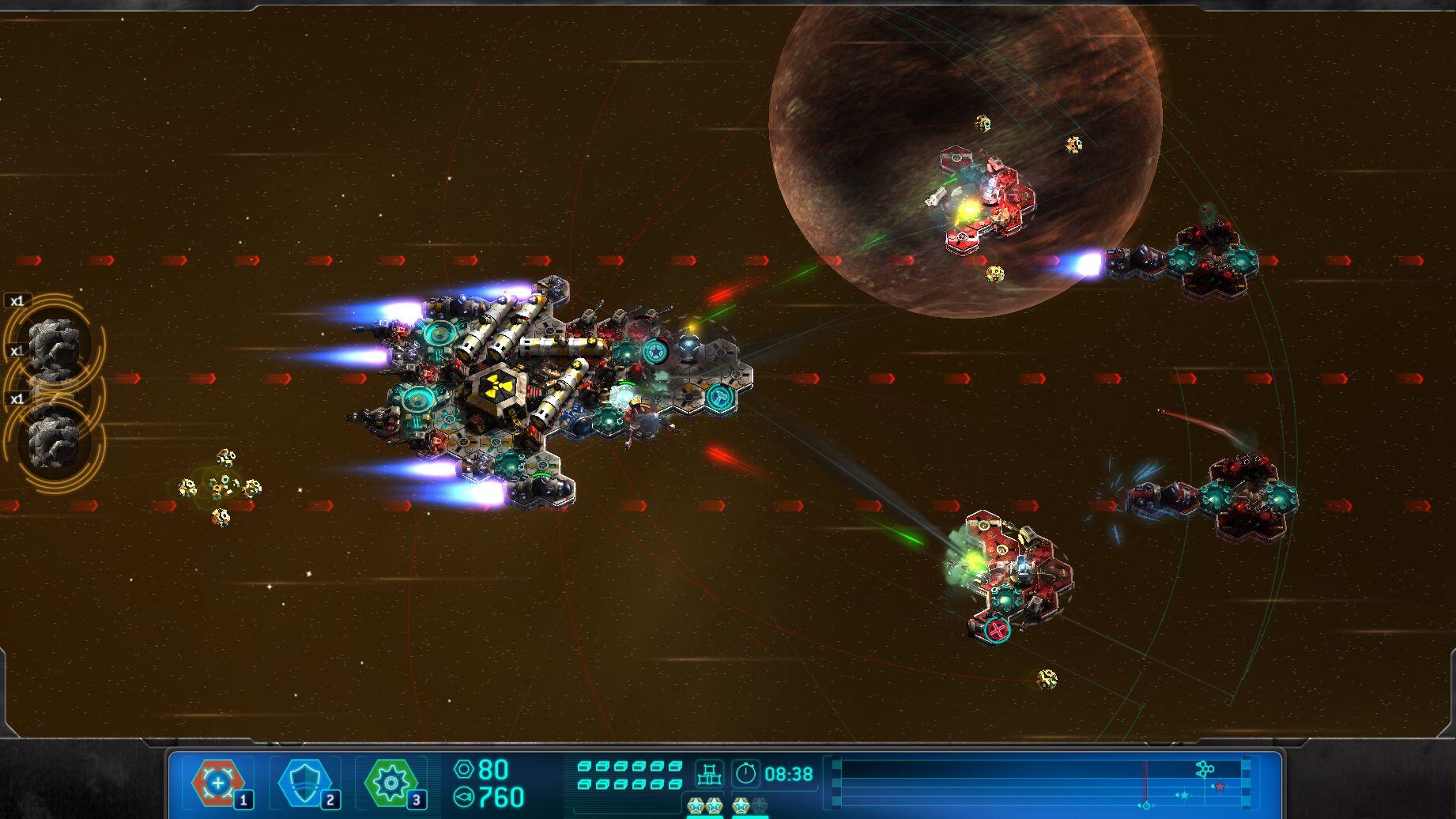 space run combat
