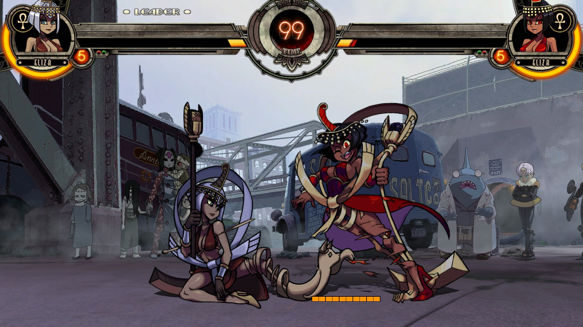 Skullgirls Encore: Eliza First Impressions in the Beta