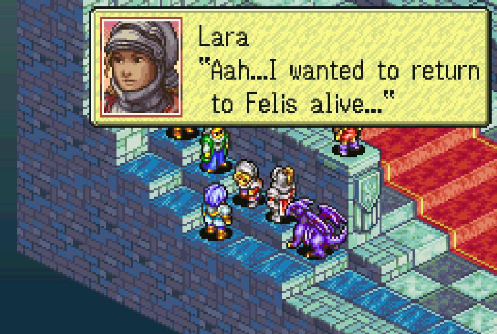 The Knight of Lodis has the look and feel of a classic Japanese strategy RPG.