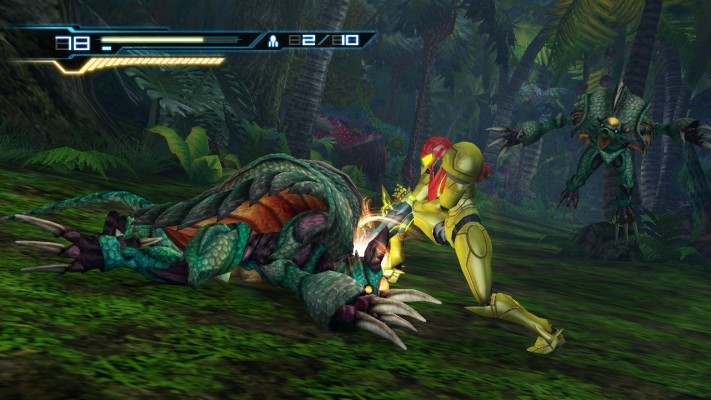 It looks like a Metroid game, but...well, I'm sure you've heard it all before.