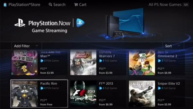 Playstation Now Screenshot
