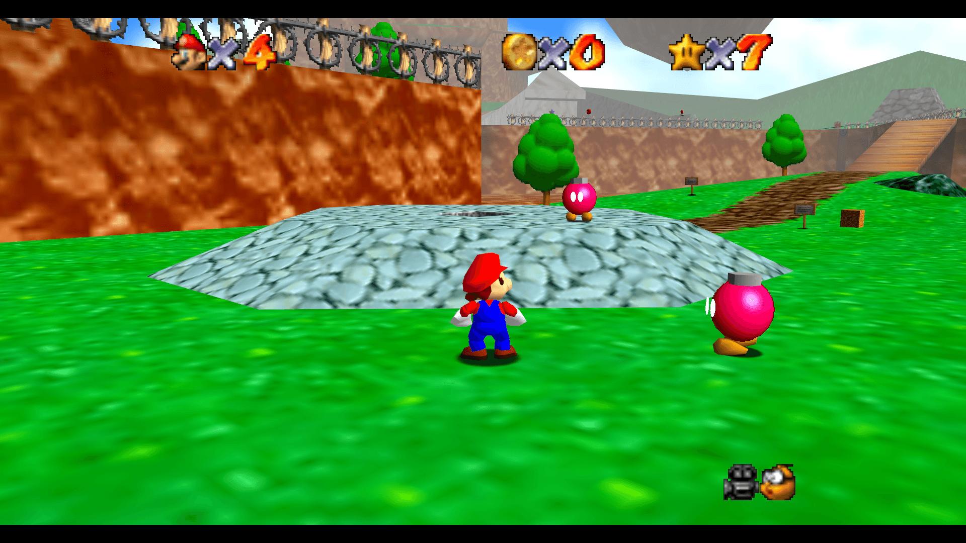 Super Mario 64 Bob-omb Battlefield