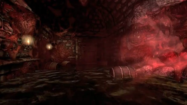 Say what you will about the Water Temple, but at least it didn't have an invisible creature stalking you the whole time like Amnesia did.