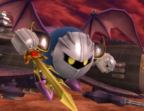 Meta Knight Draws His Blade for Super Smash Bros.