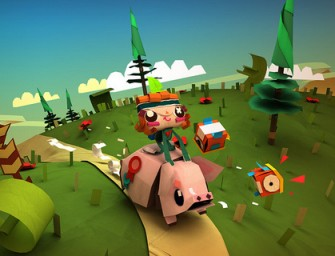 Tearaway Is Now A PlayStation 4 Game