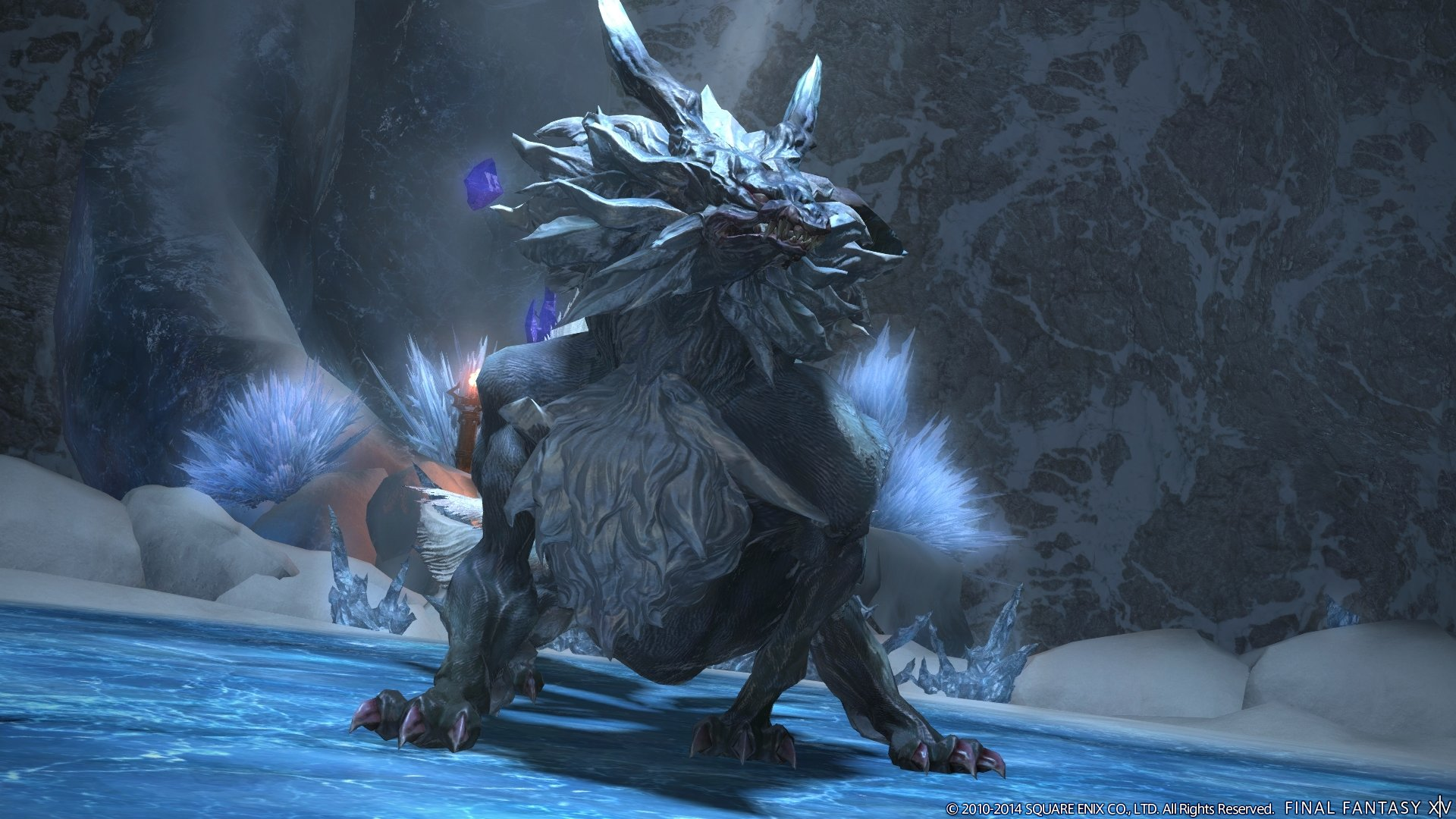 Final Fantasy XIV: A Realm Reborn 2 4 Dreams of Ice Content