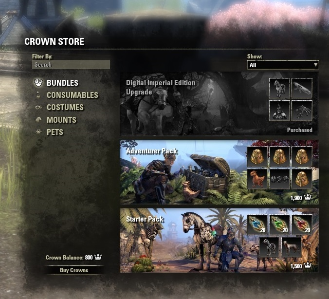 A Break Down of The Elder Scrolls Online: Tamriel Unlimited